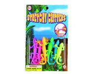 STRETCHY LIZARD kids toy gift party bag filler fidget favours sticky animal