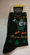 IRELAND potabile irlandese Calzini bere TILL YOU DROP Calze FOLLETTO Taglia 6-11