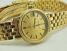 Vintage Original Special Womens Omega Sea Master Quartz Date Wrist Watch.