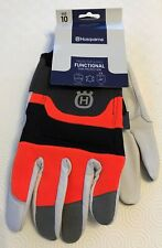 Husqvarna Chainsaw Gloves Functional with Saw Protection Large