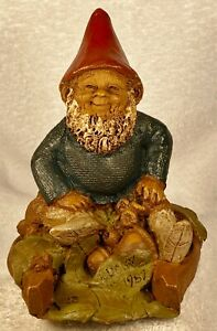 LUCKY-R 1980~Tom Clark Gnome~Cairn Studio Item #115~Edition #22~Story Included