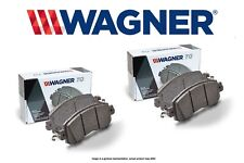 [FRONT + REAR SET] Wagner ThermoQuiet Ceramic Disc Brake Pads WG96677