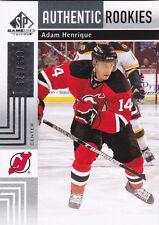 11-12 SP Game Used Adam Henrique /699 Rookie SPGU RC 2011