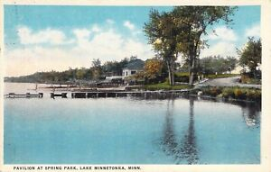 1922 Lake Minnetonka, MN:  Pavilion at Spring Park.