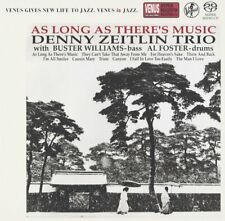 DENNY ZEITLIN TRIO-AS LONG AS THERE'S MUSIC-JAPAN MINI LP SACD Venus VHGD-145