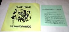 """BRIAN PEARCY Floyd Freud Paranoid Android 45 7"""" NM DAVATONE w/PS NOVELTY HEAR"""