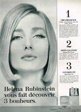 J - Publicité Advertising 1963 Cosmétique Crème Helena Rubinstein