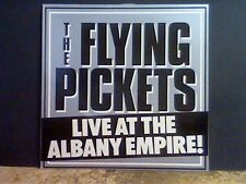 FLYING PICKETS  Live At The Albany Empire   LP    Lovely copy !