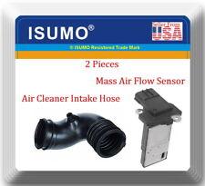 2 Pcs Air Intake Hose & Mass Air Flow Sensor Fit: Civic 2006-2011 Hybrid L4 1.3L