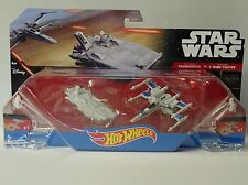 Star Wars - Hot Wheels - Transporter vs. X-Wing Fighter - Mattel - Neuf