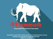 Contour Stretched Canvas 1500 x 1200mm  Made in Melb, Cheapest in Aust