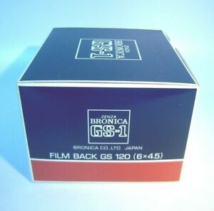 Brand New Zenza Bronica GS-1 Film back 6x4.5cm./ship FedEx—K102