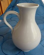 schöne große weiße Vase mit Henkel von Höchst * 21 cm hoch