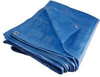 Heavy Duty Tarpaulin Plastic Canopy Tarp PVC Sheet Waterproof Cover S95