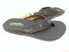 NEW! Skechers Men's PELEM EMIRO Comfort Thong Sandals Chocolate #65093 73T z
