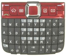 Brand New Original Nokia E63 Keypad - Red
