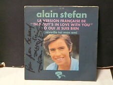 ALAIN STEFAN O oui je suis bien ( this guy's in love with you ) 121186 Dédicacé