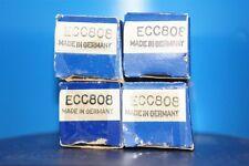 ECC808 Valvo - NOS - same date code! ECC 808 made in Hamburg - 6KX8
