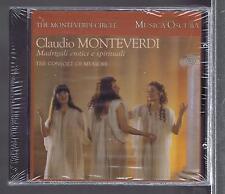 MONTEVERDI CD NEW MADRIGALI EROTICI E SPIRITUALI THE CONSORT OF MUSICKE