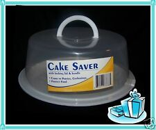 Cup Cake Food Cookie Pie Light Weight Saver Carrier Storage Locking Lid & Handle
