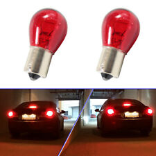 2pcs 1156 Red Bulbs Light 12V 21W PY21W BAU15S Car Brake Stop Tail Lamp Light P