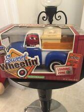 M&M Mars Red's Garage Sweet Wheelin' Ltd Ed Candy Blue Dispenser Pick-up Truck