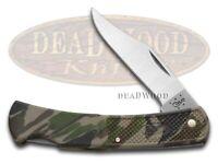 Case xx Lockback Knife Camo Zytel Handle Stainless Steel Pocket Knives 00118