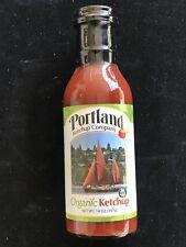 Organic Ketchup Portland Ketchup Co Gluten Free No GMOs Vegan 14 OZ