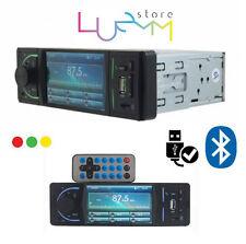 """1DIN AUTORADIO CON DISPLAY 3.6"""" STEREO per AUTO BLUETOOTH MP3 MP5 USB SD MONITOR"""