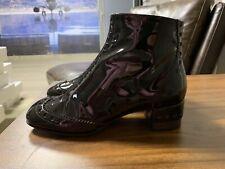 CHLOE ICONIC ICON PERRY ANKLE BROGUE BOOTS STIEFEL SCHUHE SHOES STIEFELETTEN 3.5