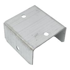More details for fence panel clip trellis bracket garden decking galvanised 44mm or 50mm