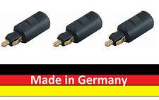 3 x Stecker für Auto und Motorrad BMW - Qualität Made in Germany Normstecker 8A