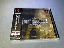 Front Mission 3 (Sony PlayStation 1, 2000) PS1 Japan Import Brand New