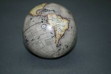 Globe Globe 8 cm Decorative Ball Antique Style