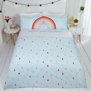 Children Kids Bedding Duvet Sets Quilt Cover Single Double Toddler Boys Girls