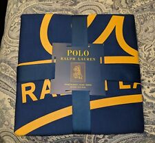 """Polo Ralph Lauren Throw Blanket, NAVY 50"""" x 70"""" LIMITED EDITION"""