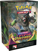Pokemon TCG Sword & Shield Vivid Voltage Build & Battle Box Prerelease Kit