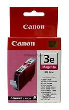 Canon BCI-3e Magenta Ink Cartridge 4481A003 Genuine New Sealed Box