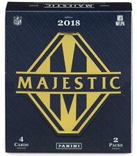 2018 Majestic Football Hobby Box w/FREE Ultra Pro Magnetic Holder!