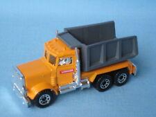 Matchbox Peterbilt Tipper Truck Orange Body Losinger Construction Swiss Promo BP
