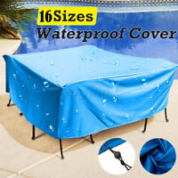 Large Garden Rattan Outdoor Furniture Cover Patio Table Chair Protection