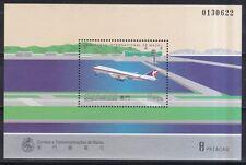 Macau 1995 postfrisch MiNr. Block 32  Boeing 747 der Air Macau