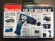 """Makita 6095DWBLE 9.6V 3/8"""" Driver Drill Kit 30 Year Anniversary"""