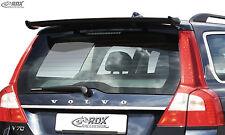 RDX Dachspoiler VOLVO V70 2007-2013 Heckspoiler Heck Dach Spoiler Flügel hinten