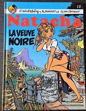 NATACHA 17 : LA VEUVE NOIRE - WALTHERY & VAN LINTHOUT - EO MARSU 1997 - C/NEUF