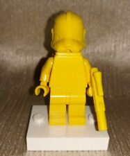 Genuine LEGO Star Wars Yellow Clone Trooper Prototype Minifigure RARE