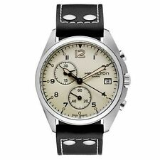Hamilton Khaki Aviation Pilot Pioneer Chrono Quartz Men's NEW Watch H76512755