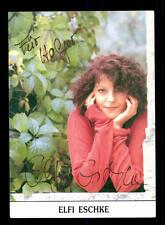 Elfi Eschke Autogrammkarte Original Signiert # BC 68272
