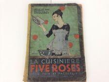 La cuisiniere FIVE ROSES Pour Pain et Patisserie,1915-Livre De Recettes-CookBook