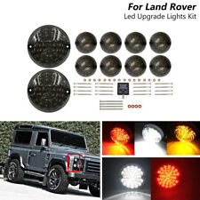 1990-2016 Land Rover Defender Smoked Complete Led Upgrade Kits Indicator Lights